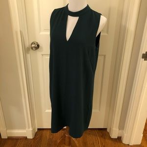 Nordstrom Teal Sleeveless Dress